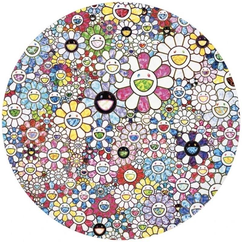 Takashi MURAKAMI - Grabado - Celestial Flowers