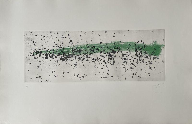 Joan MIRO - Print-Multiple - Ouvrage du vent I