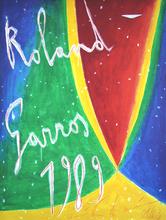 Nicola DE MARIA - Grabado - Roland Garros