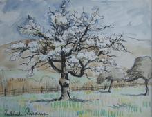Paul Émile PISSARRO (1884-1972) - Trees in Blossom