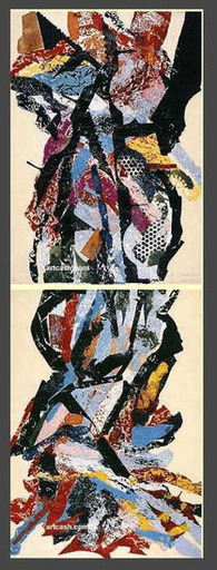 张伯伦 - 水彩作品 - UNTITLED - 1990