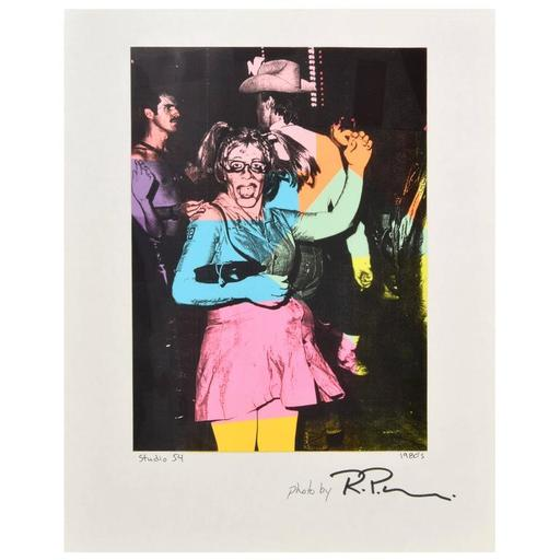RPM - Fotografia - Large Richard P. Manning Cibachrome Print, Studio 54