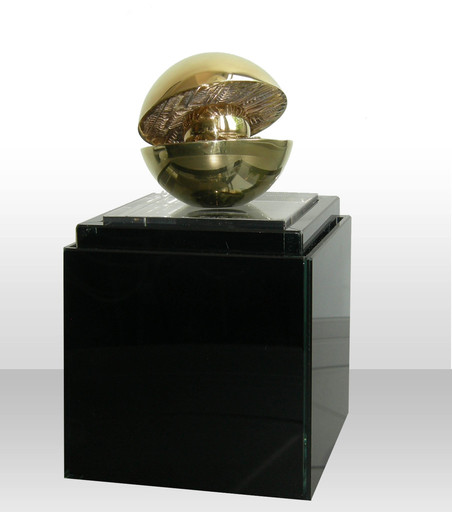 Arnaldo POMODORO - Sculpture-Volume - Rotante con sfera interna