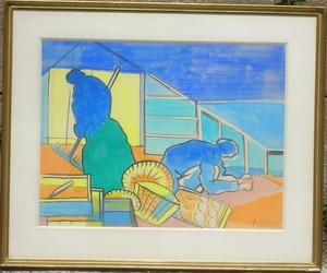 Jacques LAGRANGE - Drawing-Watercolor - Les SERRES