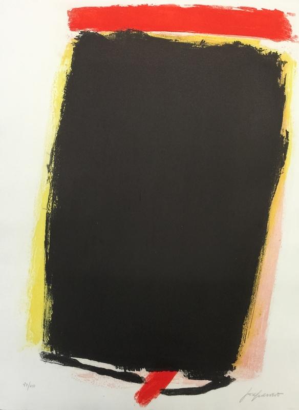 José GUERRERO - Estampe-Multiple - New York - Madrid