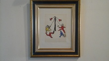 Alexander CALDER - Painting - Le cirque