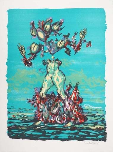 Lucien COUTAUD - Druckgrafik-Multiple - Quatre Mille Nuits