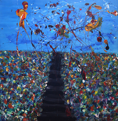 Julio César OSORIO - Painting - Stair way to heaven    (Cat N° 6106)