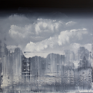 Harry James MOODY - Painting - CLOUDS NO.306