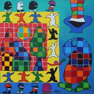 Michael JANSEN - Painting - Natürliche Daseinsfreude