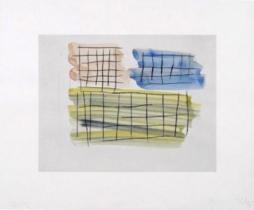 Günther FÖRG - Drawing-Watercolor - Unikat IV