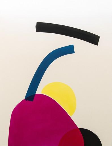 Aron HILL - Painting - Hiding Sun with Black