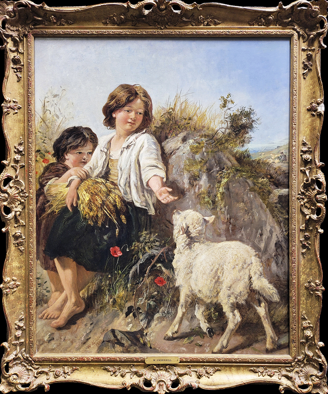 William UNDERHILL - Painting - Making Friends