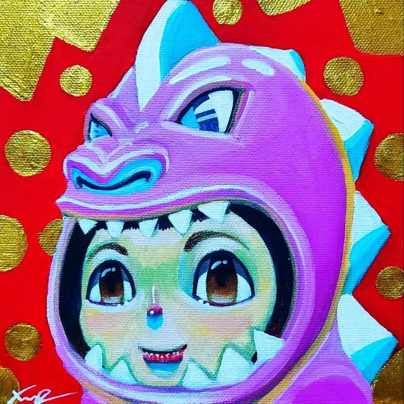 Seung-Hun SHIN - Painting - Fantasy Jesuisland - Island Girl Story Chun-ya Healing Garde