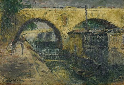 Gustave LOISEAU - Painting - Pont Marie, Paris