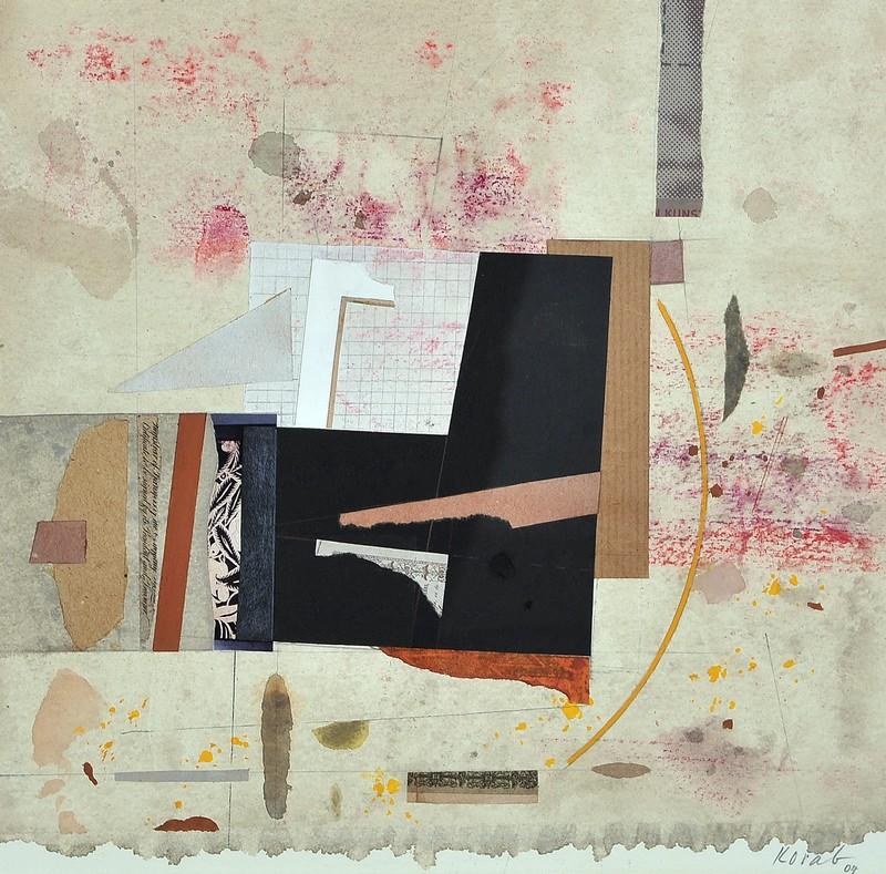 Karl KORAB - Drawing-Watercolor - (139) Komposition