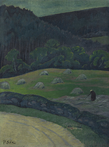 Paul SÉRUSIER - Pintura - Paysanne aux foins, Châteauneuf-du-Faou