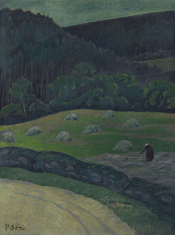 Paul SÉRUSIER - Painting - Paysanne aux foins, Châteauneuf-du-Faou