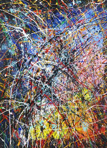 Jean-Jacques MARIE - Gemälde - Composition n°323
