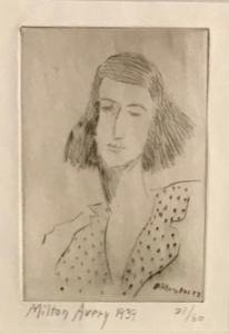 Milton Clark AVERY - Print-Multiple - Rosalie