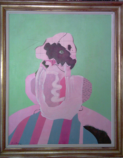 "Eduardo ARRANZ-BRAVO - Pintura - ""ULL VERD"" FET A MARGODI"