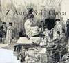 Ulpiano CHECA Y SANZ - Drawing-Watercolor - Cúchares  à CIEMPOZUELOS - voyage de Manet