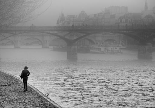 """Dmitry SAVCHENKO - Fotografia - """"Morning. Paris. Seine"""""""