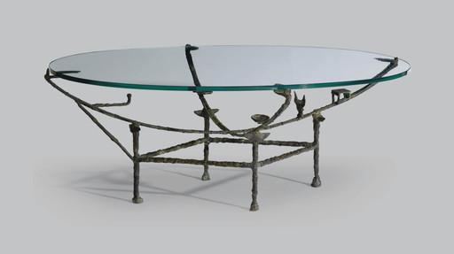 Diego GIACOMETTI - Scultura Volume - Table Carcasse, modèle à la Chauve-souris