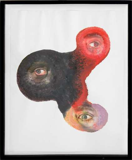 Tony OURSLER - Drawing-Watercolor - Ooks