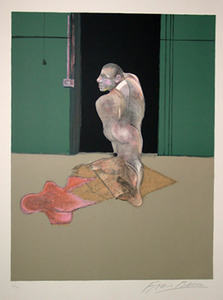 Francis BACON, Study for Portrait of John Edwards