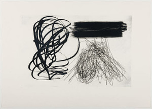 Hans HARTUNG - Estampe-Multiple - LAS ESTAMPAS DE LA COMETA