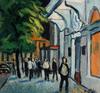 Valeriy NESTEROV - Peinture - Cityscape. Leningrad
