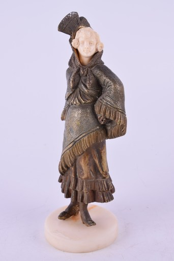 Charles Eloy BAILLY - Sculpture-Volume - 'Carmen' , Circa 1890