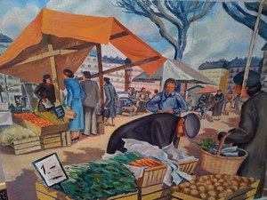 Jean Eugène BERSIER - Painting - scene de marche
