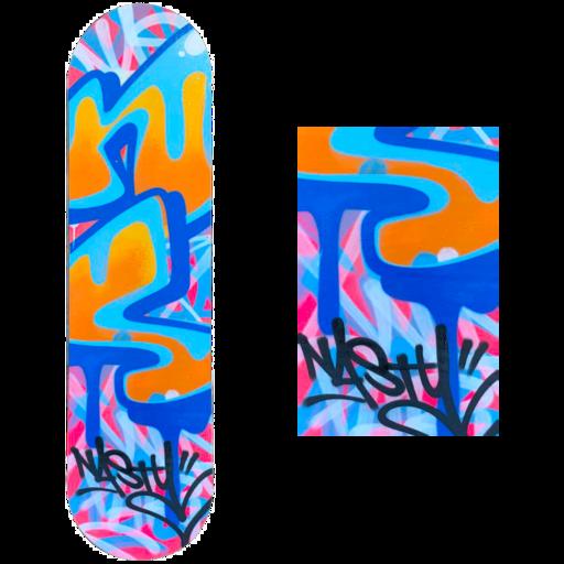 NASTY - Sculpture-Volume - Hoverboard 3