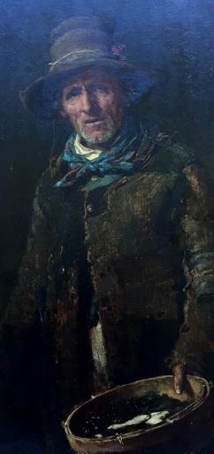 Cherubino KIRCHMAYER - Pintura - italienischer Fischer
