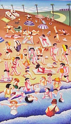 Yuval MAHLER - Pintura - Beach