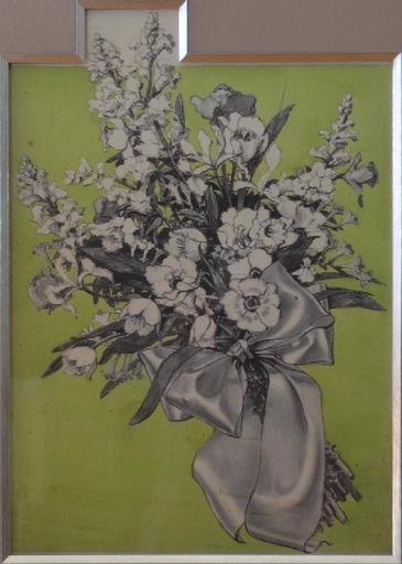 Edwin GEORGI - Drawing-Watercolor - Floral Illustration