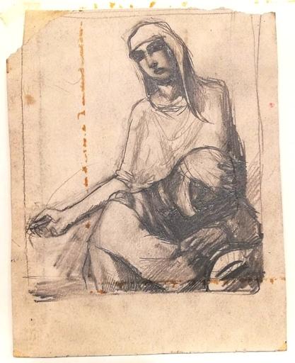 Mario SIRONI - Dibujo Acuarela