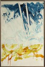 Mario SCHIFANO - Peinture - Bicicletta