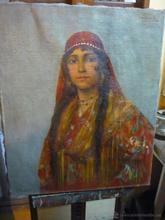 Francisco RUIZ MORALES - Pintura - Gitana