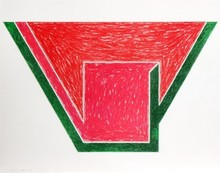 Frank STELLA - Estampe-Multiple - Union