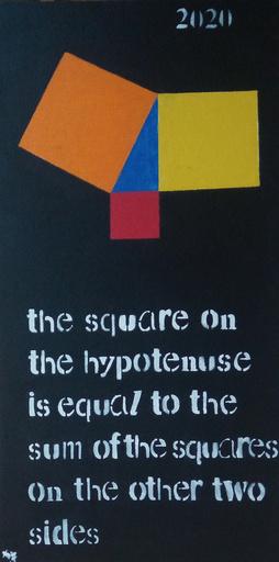 Harry BARTLETT FENNEY - Painting - pythagoras