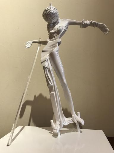 Salvador DALI - Sculpture-Volume - Femme à la tête de roses