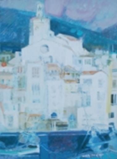Paul AMBILLE - Pintura - Paysage espagnol