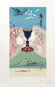 萨尔瓦多·达利 - 版画 - Ace of Cups