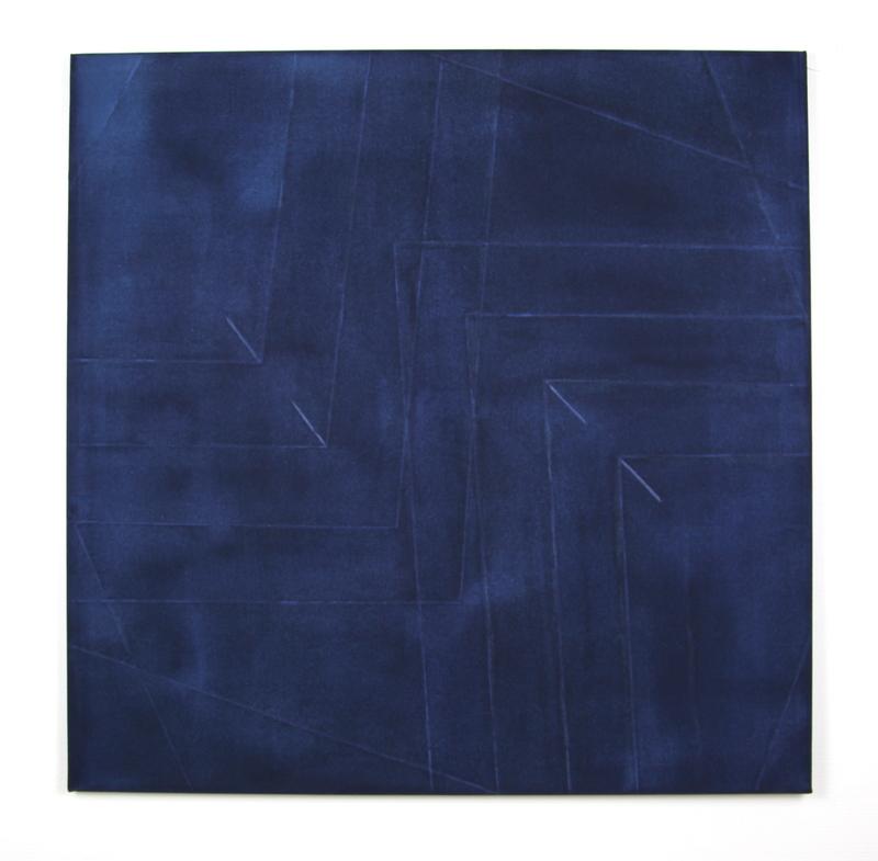 Guillaume MOSCHINI - Pintura - Sans titre (ref 027 multi-décroisé)