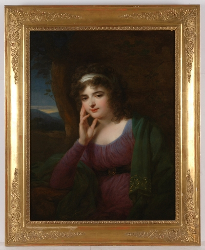 "Josef GRASSI - Painting - ""Eleonora von Sorgenthal"", 1797, Oil on Canvas"