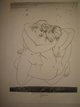 Pierre-Yves TRÉMOIS - Print-Multiple - Couple étreinte,1970.