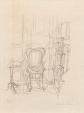 Alberto GIACOMETTI - Estampe-Multiple - Chair and Gueridon